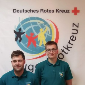 Kreisleiter Mathias Haruppa und Stellvertreter Paul Schneiderle